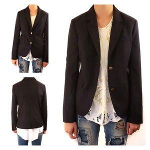 Vineyard Vines Whale women's wool jacket size 2